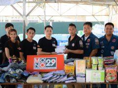 MONO 29 นำสิ่งของบริจาคลงพื้นที่ช่วยเหลือผู้ประสบภัย