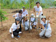 """โมโน กรุ๊ป ร่วมพลิกฟื้นผืนป่า ใน """"โครงการร่วมปลูกป่า ฟื้นฟูธรรมชาติ 2553"""""""