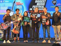 MONO29 ร่วมสนับสนุนเทศกาลดนตรี PATTAYA Music Festival 2019