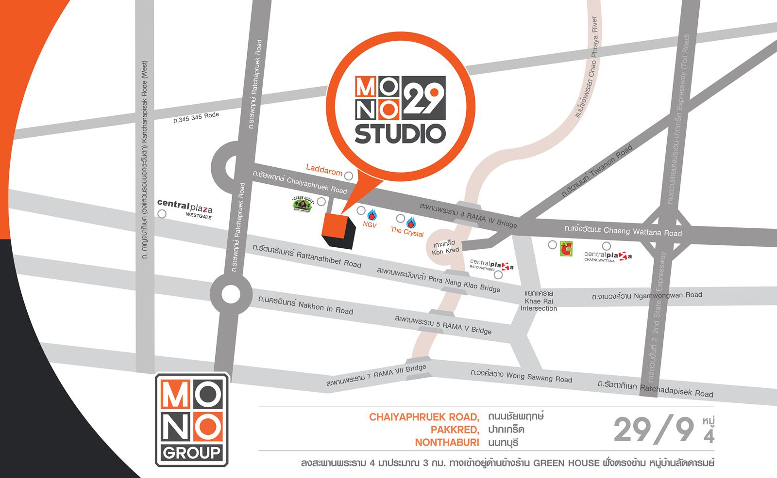 Mono Group Map